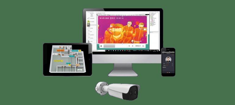 Système de contrôle d'accès contre le COVID19
